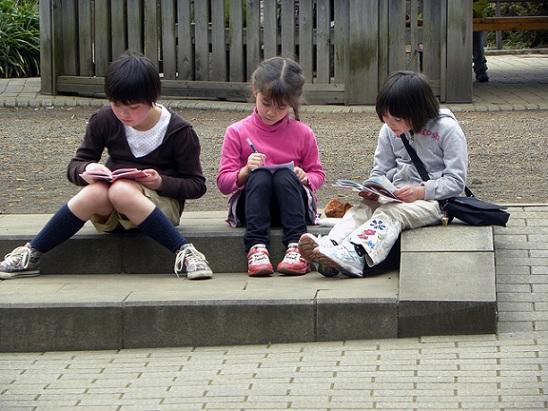 孩子閱讀看書,養成愛好之五大益處