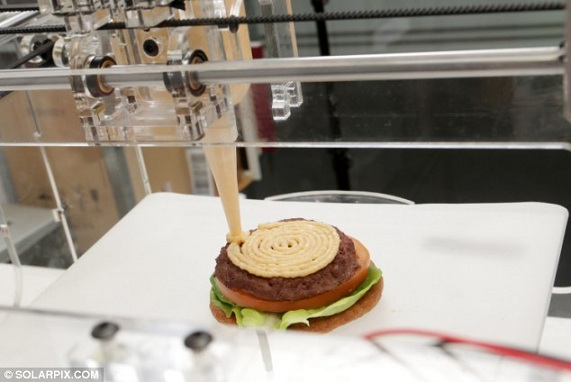 3D打印機印食物,再不用買餸煮飯?(Image Credit: BBC)