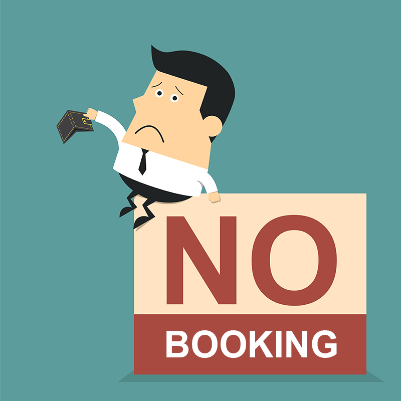 No Booking